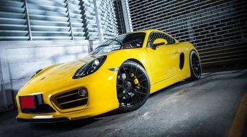 Porsche Cayman – Cargraphic Version